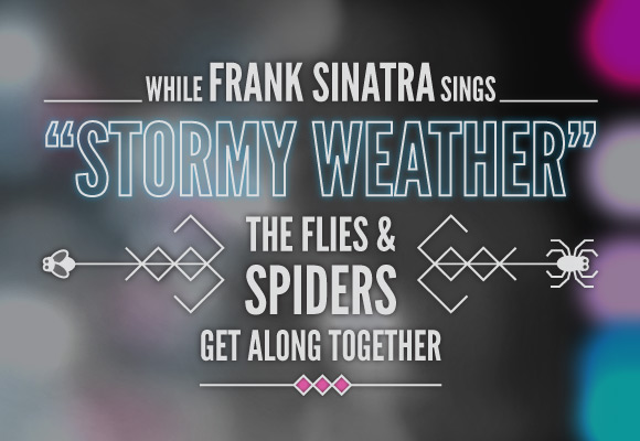 While Frank Sinatra Sings