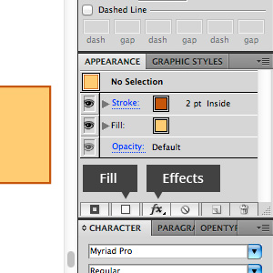 Illustrator Appearance panel