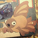 scrapbook fish for an OC Fair wedding proposal