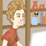 Illustration of web designer