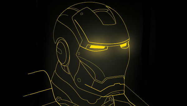 Ironman Helmet Drawing Ironman Helmet
